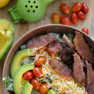 Clean Eating BLT Salad Bowl