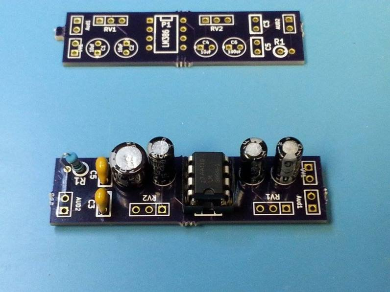LM386 with Gain Control