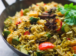 Guilt-Free Chicken Biryani