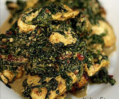 Not your average Fish Saag