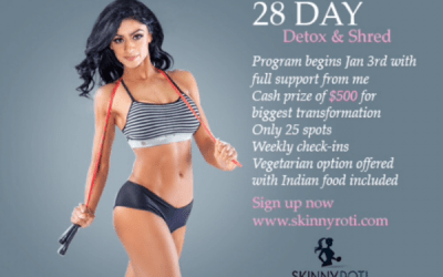 28 Day Detox & Shred….Starts Jan 3rd!!