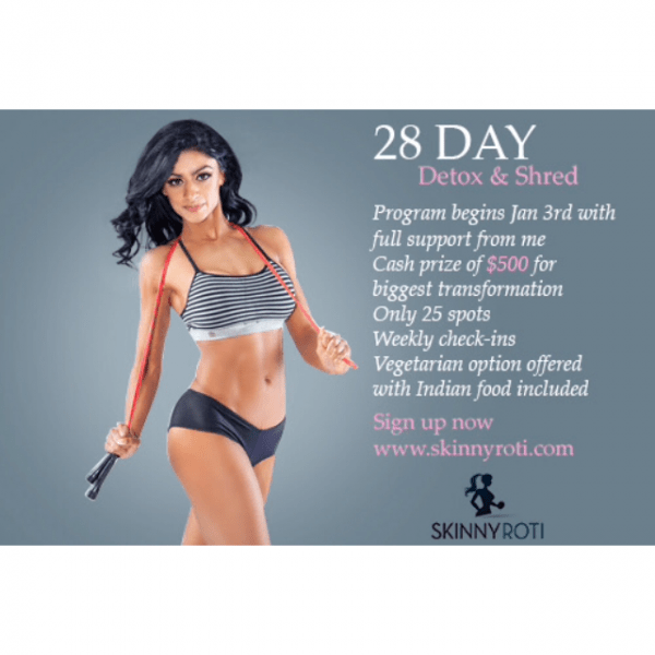 28 Day Detox & Shred….Starts Jan 3rd!!