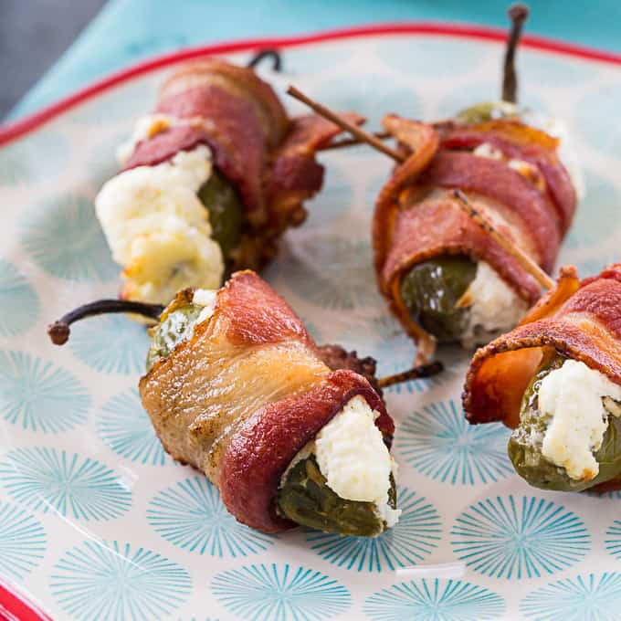 Air Fryer Bacon Wrapped Jalapenos