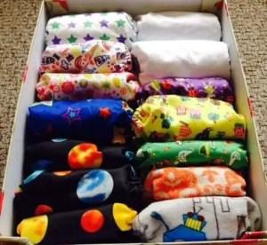 My cloth nappies