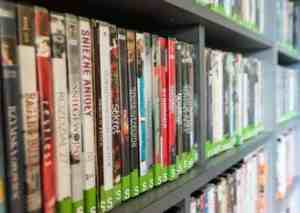 secondhand dvds
