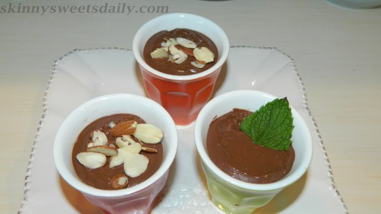 Vegan Double Chocolate Mousse, Version Two