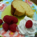 Moist Lower Fat Cream Cheese Pound Cake