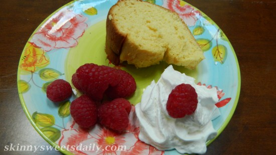 Moist Low Fat Cream Cheese Pound Cake