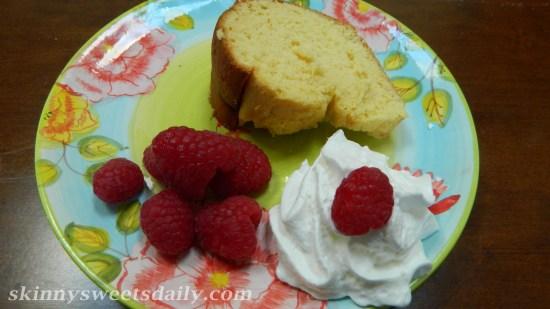 Moist Lower Fat Cream Cheese Pound Cake