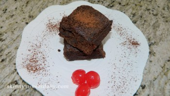Skinny Gooey Cherry Brownies 2