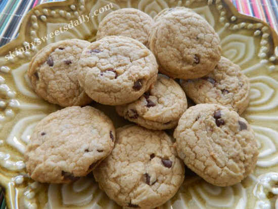 Skinny and Delish Chocolate Chip Cookies