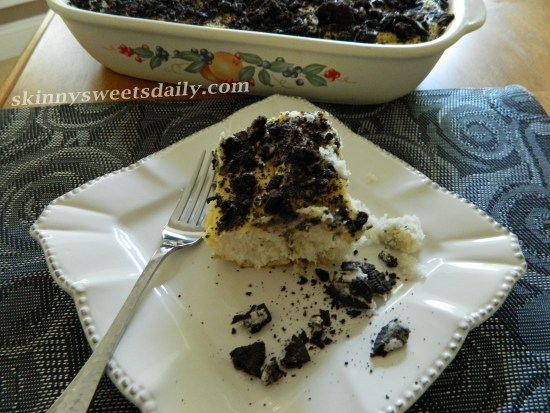 Outrageous Skinny Cookies And Cream Cake