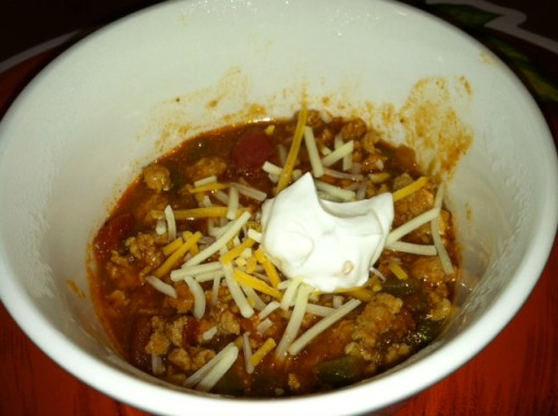 Wendy's Healthy Chili