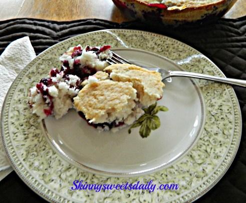 3 ing cobbler slice cake fix