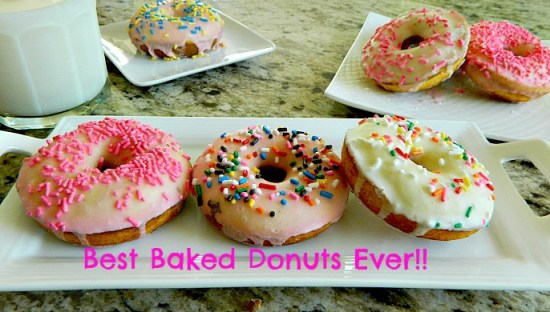 Best Baked Donuts Ever!