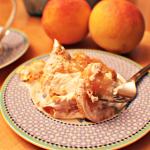 Pantry Peach Angel Trifle Cake