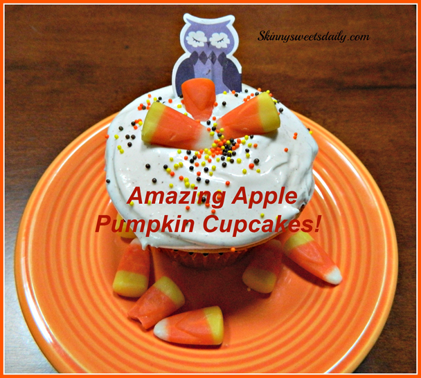 Amazing Apple Pumpkin Cupcakes