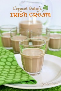 Copycat Bailey's Irish Cream by Yesterfood