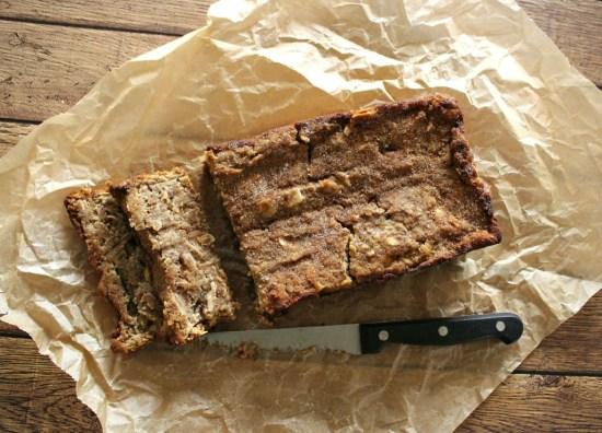 Autumn Apple Loaf Cake
