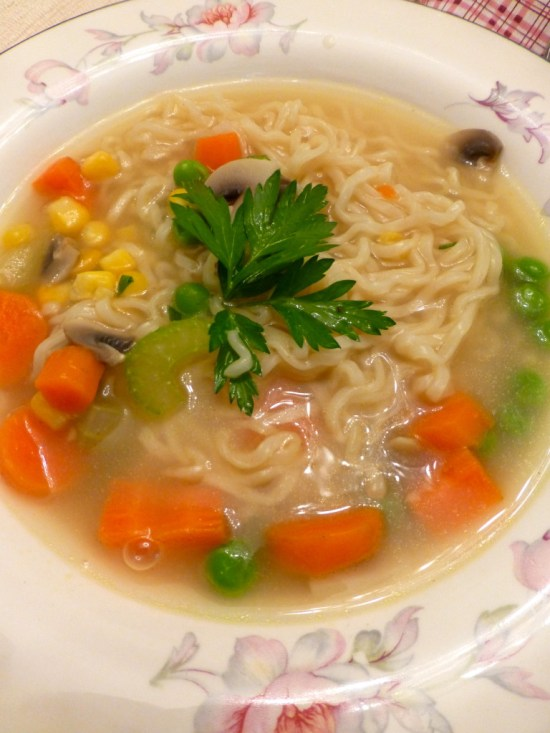 Home Ec Ramen Soup