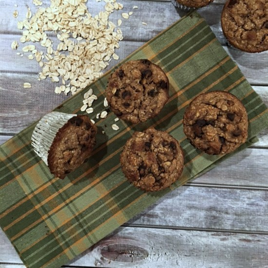 Loaded Oatmeal Muffins 2016