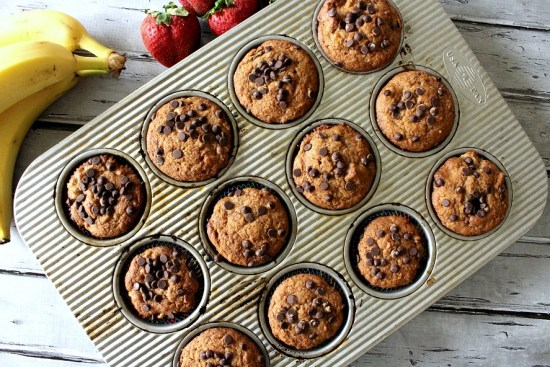 vegan banana split cupcakes