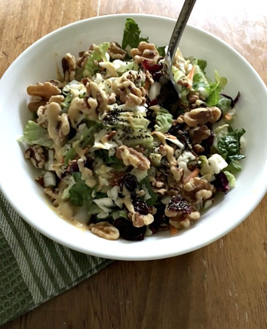 Chopped Nutty Detox Salad