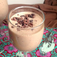 Chocolate Chip Cookie Dough Protein Shake