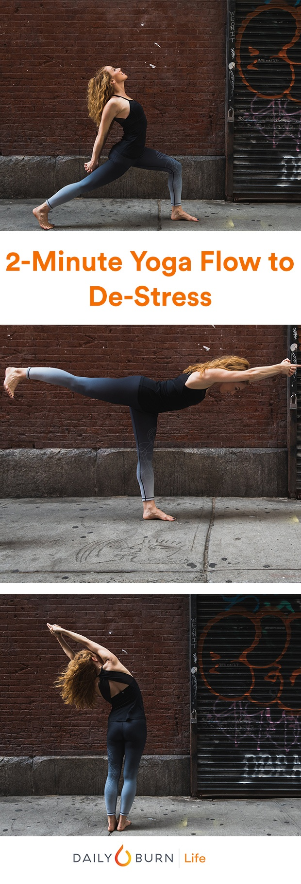 2-Minute Yoga Flow to Stretch and De-Stress