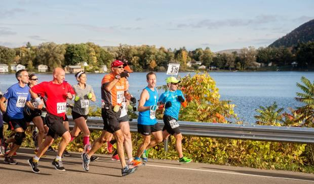 The 15 Best Fall Marathons in the U.S. - Guthrie Wineglass Marathon in Corning, New York