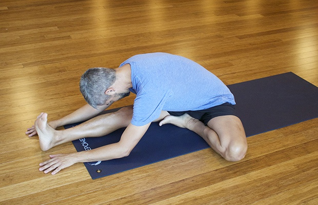 Yin Yoga for Runners: Half Butterfly Pose