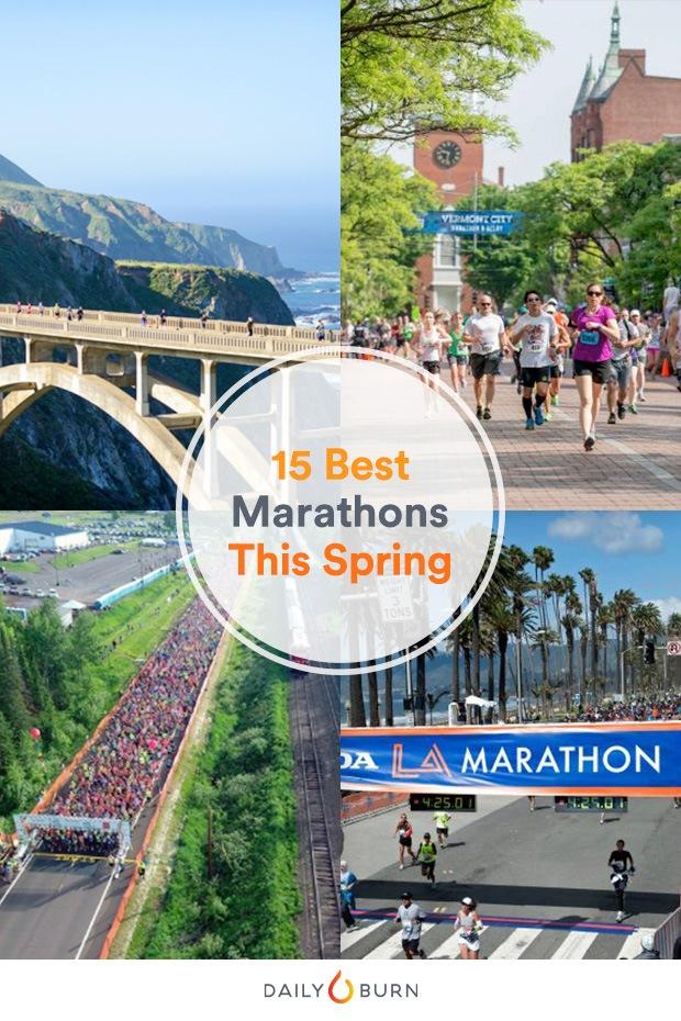 The 15 Best Spring Marathons in the U.S.