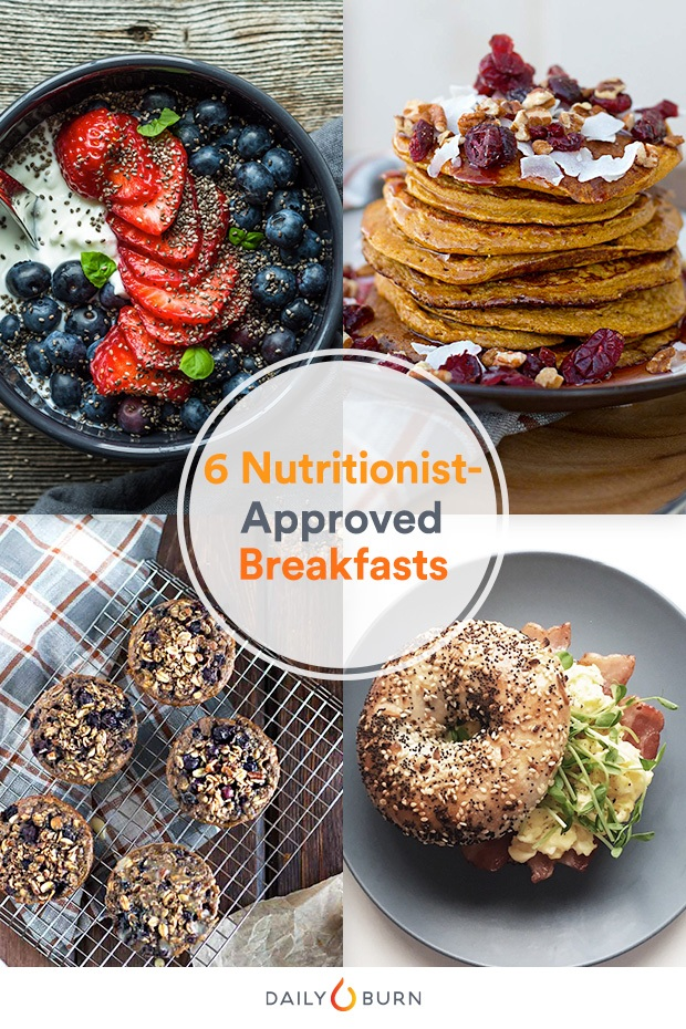 6 Nutritionist-Approved Breakfast Ideas to Start Eating Clean