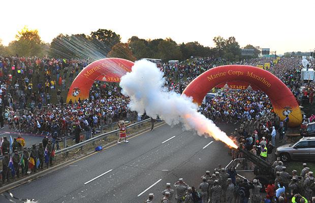 The 15 Best Fall Marathons in the U.S. - Marine Corps Marathon in Washington, D.C.