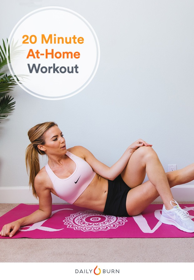 20-Minute Bodyweight Workout for Your Busiest Days