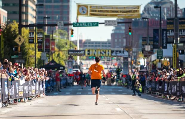 The 15 Best Fall Marathons in the U.S. - Baltimore Marathon in Baltimore, Maryland