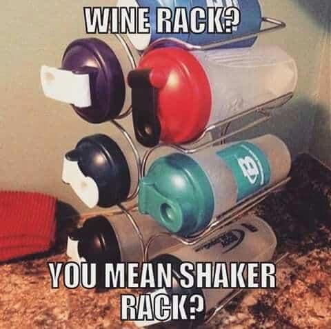 shaker rack