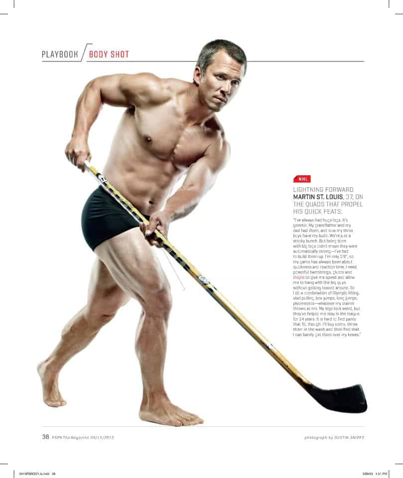 MArty St Louis jacked