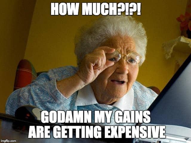 supplement prices