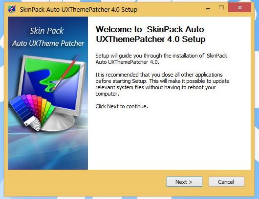 SkinPack Auto UXThemePatcher 3.0