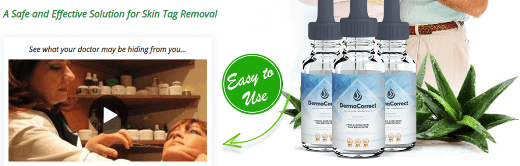Derma Correct Skin Tag Removal Ingredients