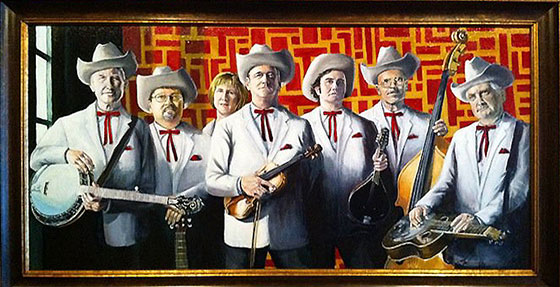 pictured: comet bluegrass all stars