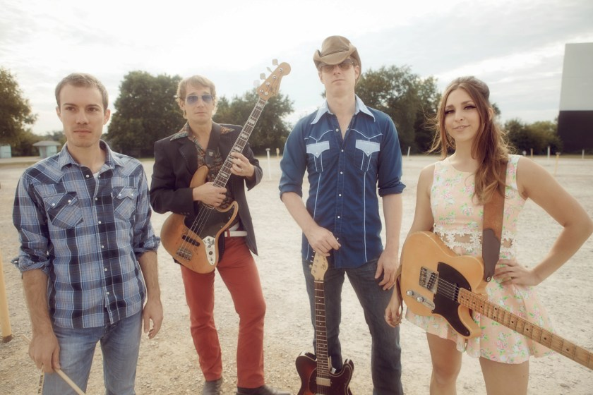 pictured: angela perley and the howlin' moons