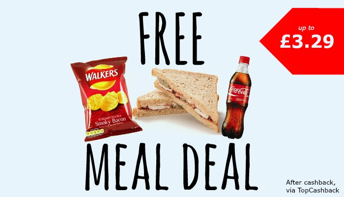 Free Meal Deal at Boots or Tesco - Skint Dad