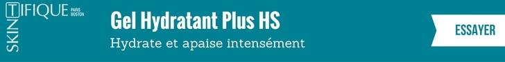Skintifique - Gel Hydratant Plus HS - Hydrate et apaise intensément