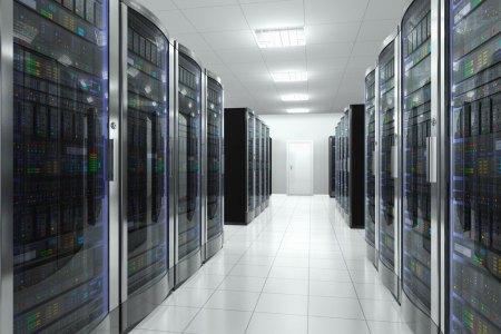 digital forensics server room