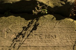 Note the date of this inscription in the rock.