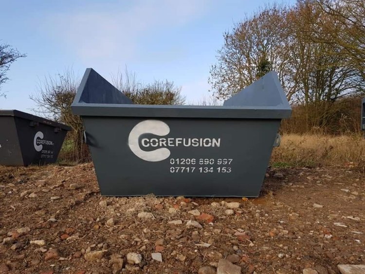 Builder's skips in Rowhedge