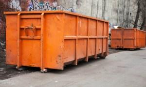 Big metal commercial skip hire