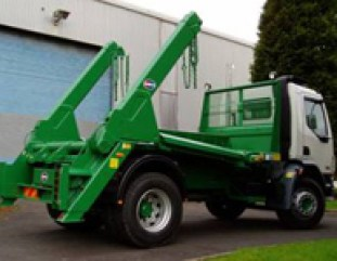 Tipping Skip Lorry